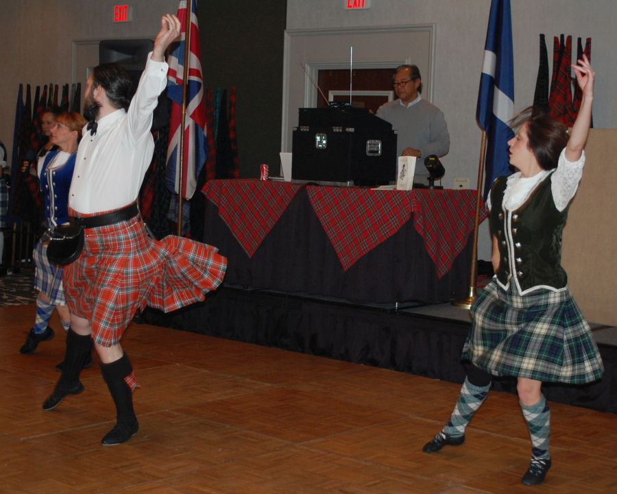 The Dallas Highland Dancers